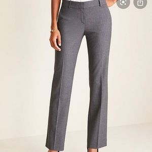 Ann Taylor Houndstooth Boot Leg Trousers NEW 0